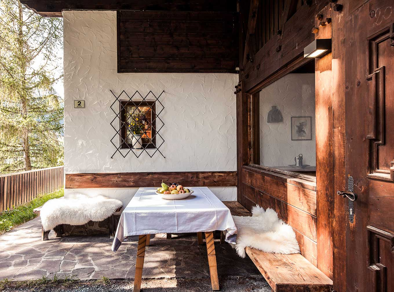 Chalet am Reschensee – hunting lodge