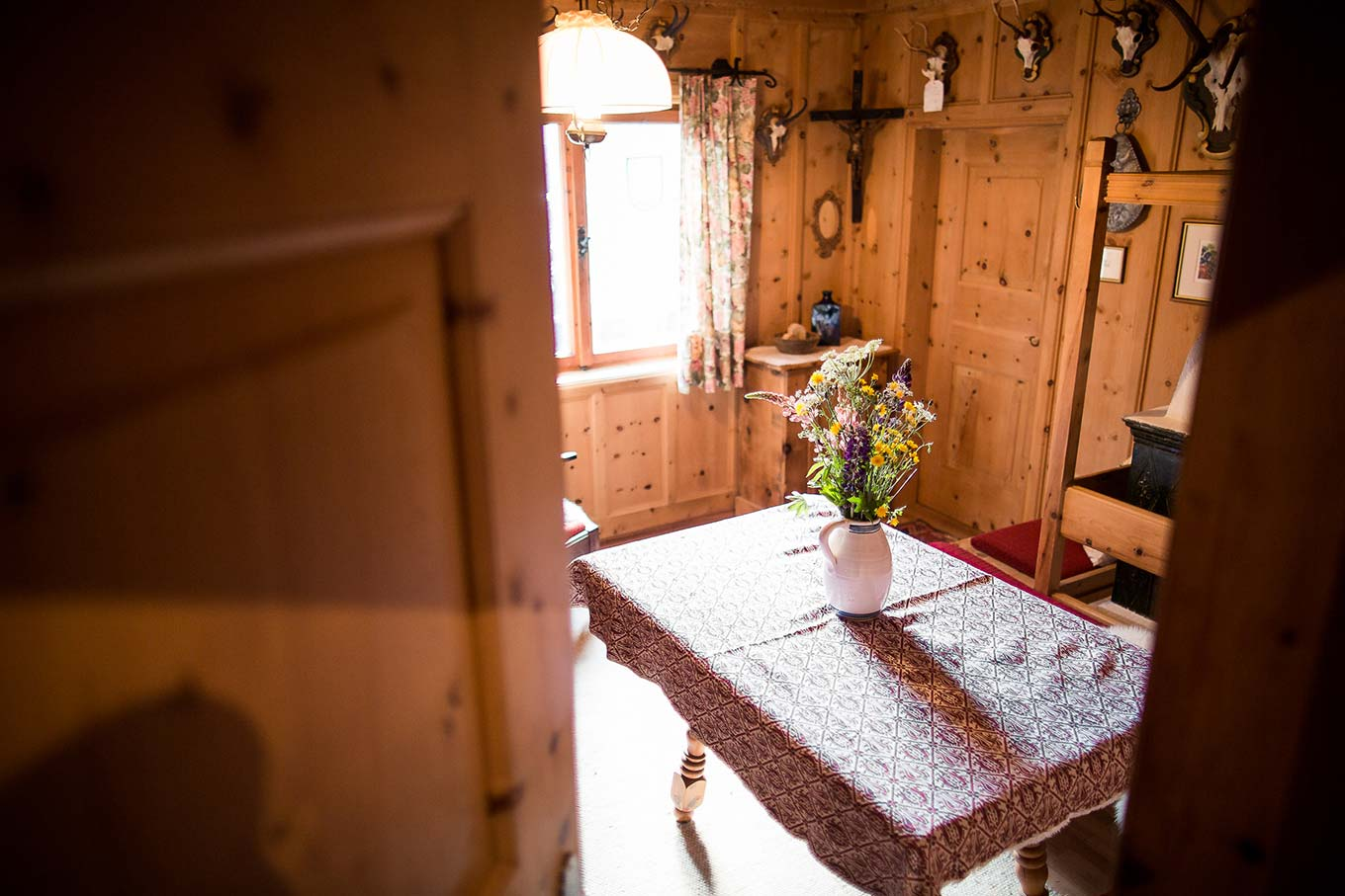 Cosy traditional Tyrolean Stube - sitting room